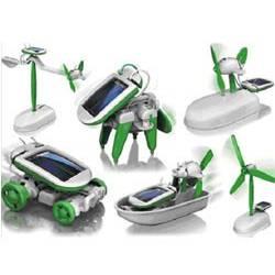 Kit jouet solaire 6 en 1