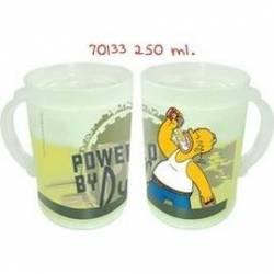 Chope de bière réfrigérante Homer Simpson
