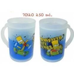 Chope de bière réfrigérante Bart Simpson