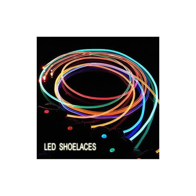 lacets lumineux multicolores. Black Bedroom Furniture Sets. Home Design Ideas