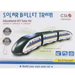 Jouet train solaire