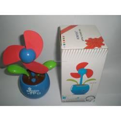 Ventilateur usb fleur