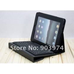 Etui simili cuir Clavier Bluetooth pour ipad 2 et ipad 3