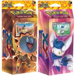 Pokemon Xy Starter ETINCELLES 2 decks de 60 cartes
