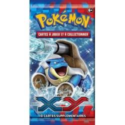 1 booster Pokémon XY Tortank contenant 10 cartes