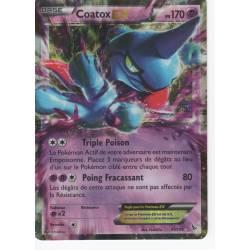 Coatox EX PV170 - 41/106 Pokemon Carte Holographique