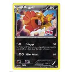 Baggaïd PV100 - 59/106 Pokemon Carte holographique