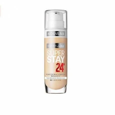 Fond de Teint Gemey Maybelline Super Stay 24H - 20 Beige Eclat