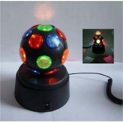 Boule disco usb lumineuse et multicolore
