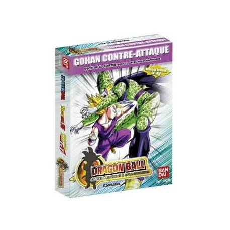 Jeu de Cartes Dragon Ball - Gohan Contre Attaque