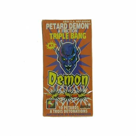 Petard Demon à Friction Triple Bang