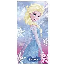 Drap de Plage La Reine des Neiges - Elsa
