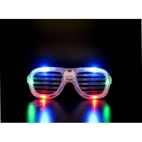 Lunettes à barreaux lumineuses