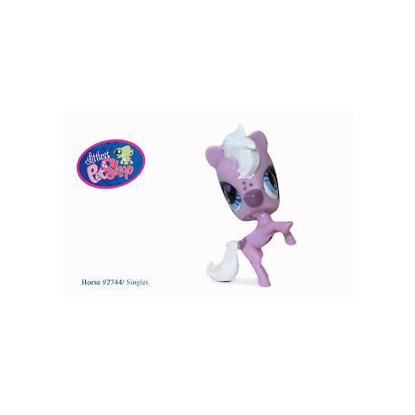 Figurine Littlest PetShop 2744 Cheval Rose