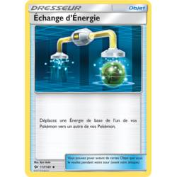 Echange d'Energie Carte Peu Commune - Soleil et Lune - 117/149