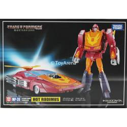 Transformers Masterpiece Hot Rodimus MP-28 Cybertron Cavalier