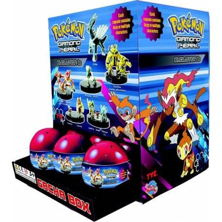 Pokemon Diamant et perle gacha box oeuf surprise ^^