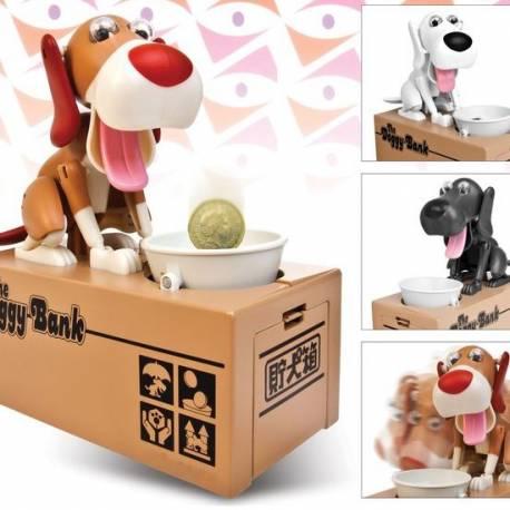 Tirelire chien affamé choken bako