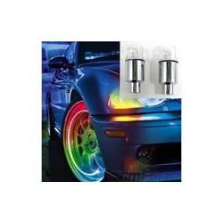 Led lumineuses pour roue de voiture
