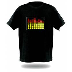 T-Shirt Equalizer Homme noir