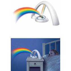 Lampe arc en ciel