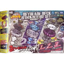Beyblade Deck Attaque & Defense set BB86