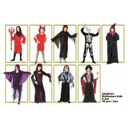 Costume HALLOWEEN fantome, mage, reine, vampire, cape, sorciere