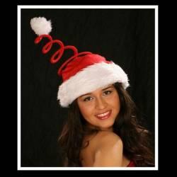 Bonnet à spirale de Noel
