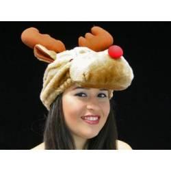 Bonnet de Noel renne