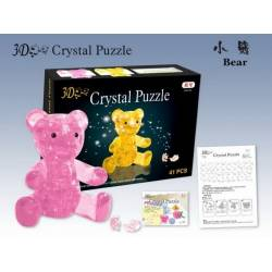 Kit puzzle 3D ourson