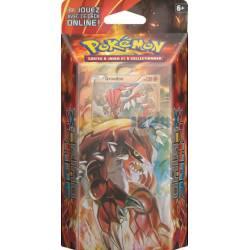 """1 Starter deck Pokémon Primo Choc Xy05 60 cartes """"Pulsation Terrestre"""" avec la carte holographique Groudon"""