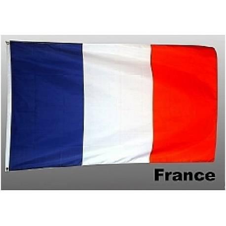 Drapeau Français 90 cm * 150 cm avec 2 oeillets FRANCE