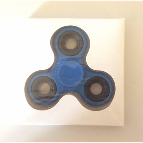 Hand Spinner Metal Bleu