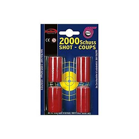 Ruban d'amorces pour pistolets 2000 coups