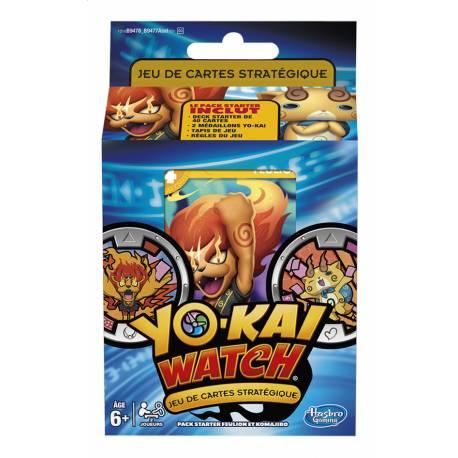 Yo-Kai Watch Pack Starter Feulion et Komajiro