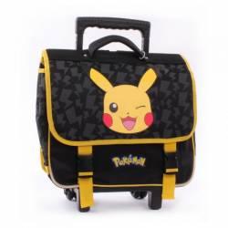 Cartable à Roulettes Pokémon Pikachu