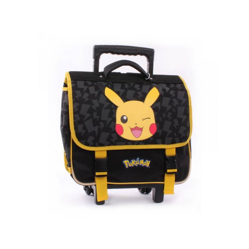 grossiste 85df6 be146 Cartable à Roulettes Pokémon Pikachu - Idée cadeau ACG cadeaux et gadgets  fun : Beyblade, Pokémon, Barbie, Frozen, Monster High, loom band