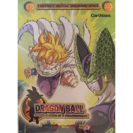 Coffret Métal Dragon Ball Carddass