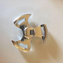 Hand Spinner Design Argenté
