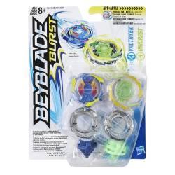 Toupie Beyblade Burst Dual Pack Valtryek Unicrest