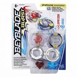 Toupie Beyblade Burst Dual Pack Spryzen Odax