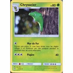 Chrysacier Carte Pokémon Peu Commune - Soleil et Lune - 2/149